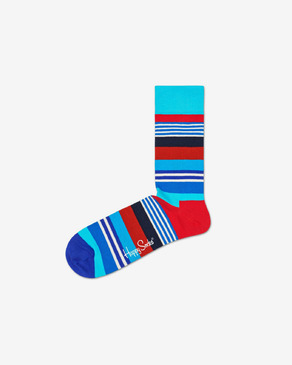 Happy Socks Multi Stripe Zokni