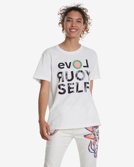 Desigual Love Your Self Póló