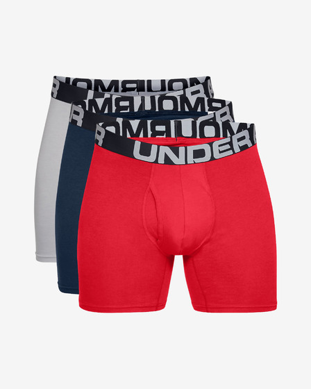 """Under Armour Charged Cotton? 6"""" Boxeralsó 3 ks"""