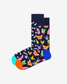 Happy Socks Dog Gift Box Zokni, 2 pár