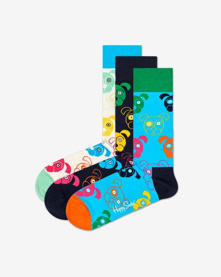 Happy Socks Dog Gift Box Zokni 3 pár